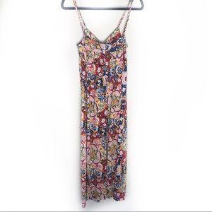 Nieves Lavis Maxi Dress